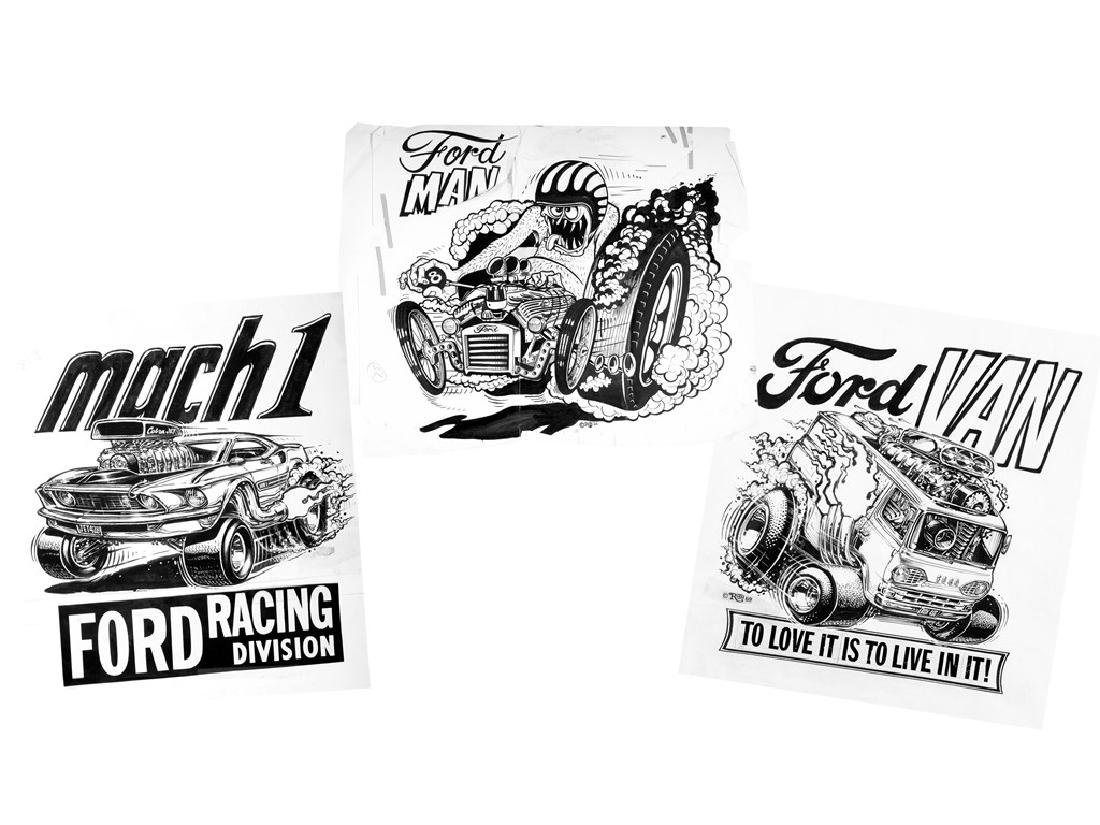 Ford Man, Van, and Mach 1 by Roth Studios
