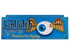 """Von Dutch Originator of Modern """"Pin"""" Striping Sign"""