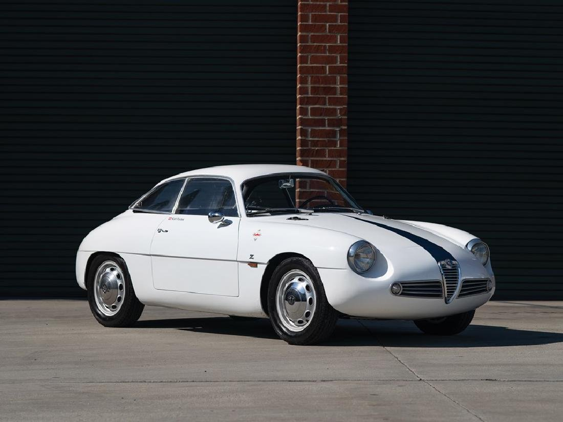 1960 Alfa Romeo Giulietta Sprint Zagato