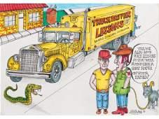 Truck Driver Lessons by Von Dutch, 1991