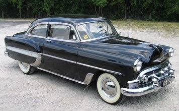 203: 1953 Chevrolet Bel Air Two Door Sedan