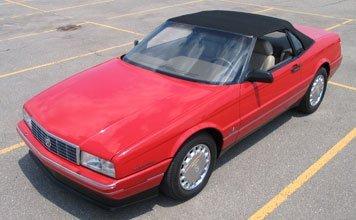 205: 1991 Cadillac Allante Convertible
