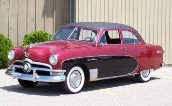207: 1950 Ford Custom Deluxe Crestliner