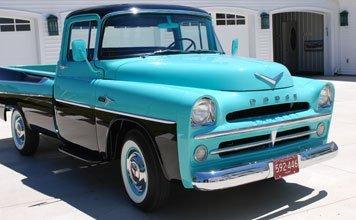 208: 1957 Dodge Sweptside 100 Pickup