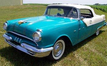 211: 1955 Pontiac Star Chief Convertible