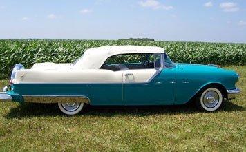 211: 1955 Pontiac Star Chief Convertible - 5