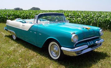 211: 1955 Pontiac Star Chief Convertible - 7