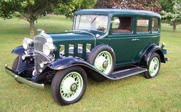 213: 1932 Chevrolet Confederate Deluxe Special Sedan
