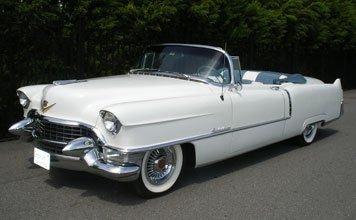 215: 1955 Cadillac Series 62 Convertible Coupe