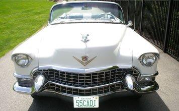 215: 1955 Cadillac Series 62 Convertible Coupe - 8
