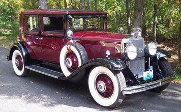 218: 1930 LaSalle Town Sedan
