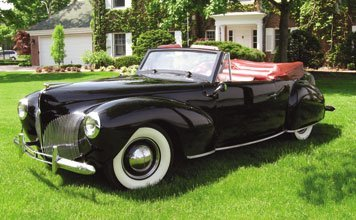 223: 1940 Lincoln Continental Convertible