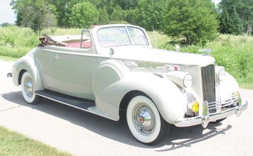 224: 1940 Packard 120 Convertible Coupe