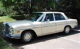 1201 1969 MercedesBenz 280SE Sedan