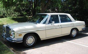 1201: 1969 Mercedes-Benz 280SE Sedan
