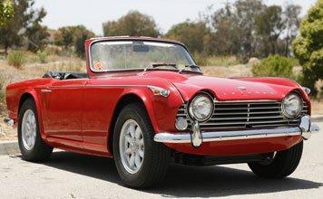 1204: 1966 Triumph TR4A Roadster