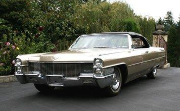 1205: 1965 Cadillac de Ville Convertible