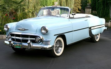 1213: 1953 Chevrolet Bel Air Convertible