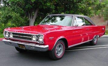 1214: 1967 Plymouth GTX