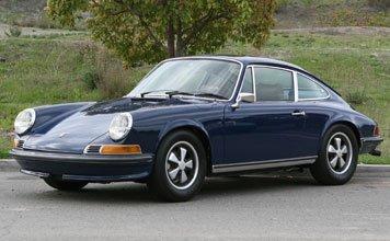 1221: 1972 Porsche 911E Coupe