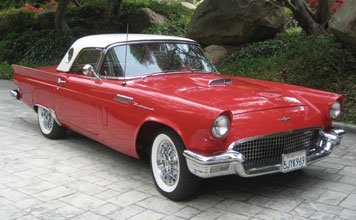 1222: 1957 Ford Thunderbird