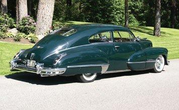 1245: 1947 Cadillac Series 62 Sedanette - 2