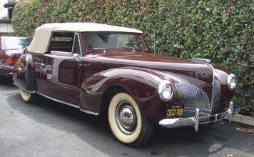 1249: 1940 Lincoln Zephyr Continental Cabriolet
