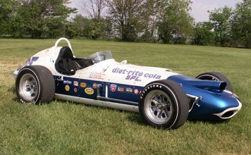 "1267: 1963 Watson ""Leader Card 500"" Indy Roadster"