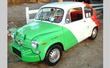 1509: 1967 Fiat Abarth 850 Berlina Corsa Nurburgring Se