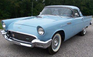 1510: 1957 Ford Thunderbird