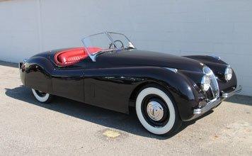 1517: 1951 Jaguar XK 120 Roadster