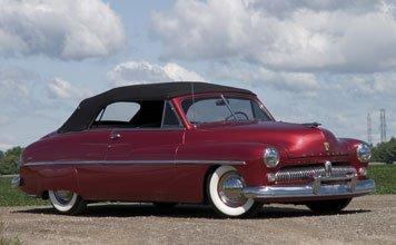 1523: 1949 Mercury Convertible Coupe