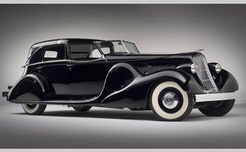 1569: 1935 Duesenberg Model SJ Town Cabriolet