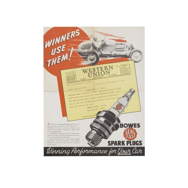 1105: Bowes Seal Fast Spark Plugs