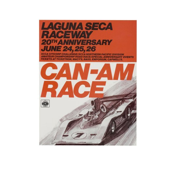 1107: 20th Anniversay Can-Am Race (Laguna Seca)