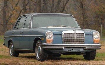 210: 1970 Mercedes-Benz 250 Sedan