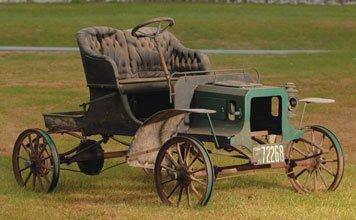 219: 1907 Reo  Model G Parts Car