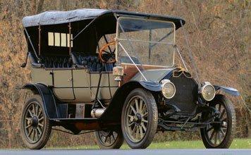 222: 1911 Mitchell Model R  5-Passenger Phaeton