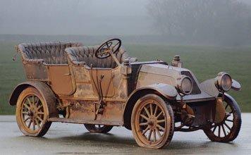 227: 1912 Franklin  Model G 5-Passenger Touring Car