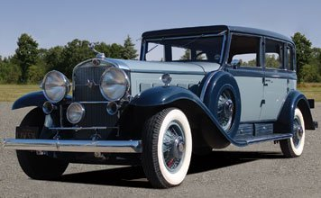 279: 1930 Cadillac V16 Madame X Five Passenger Sedan