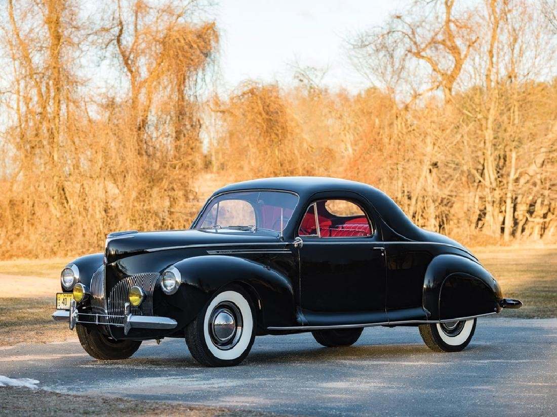 1940 Lincoln-Zephyr V-12 Three-Window Coupe