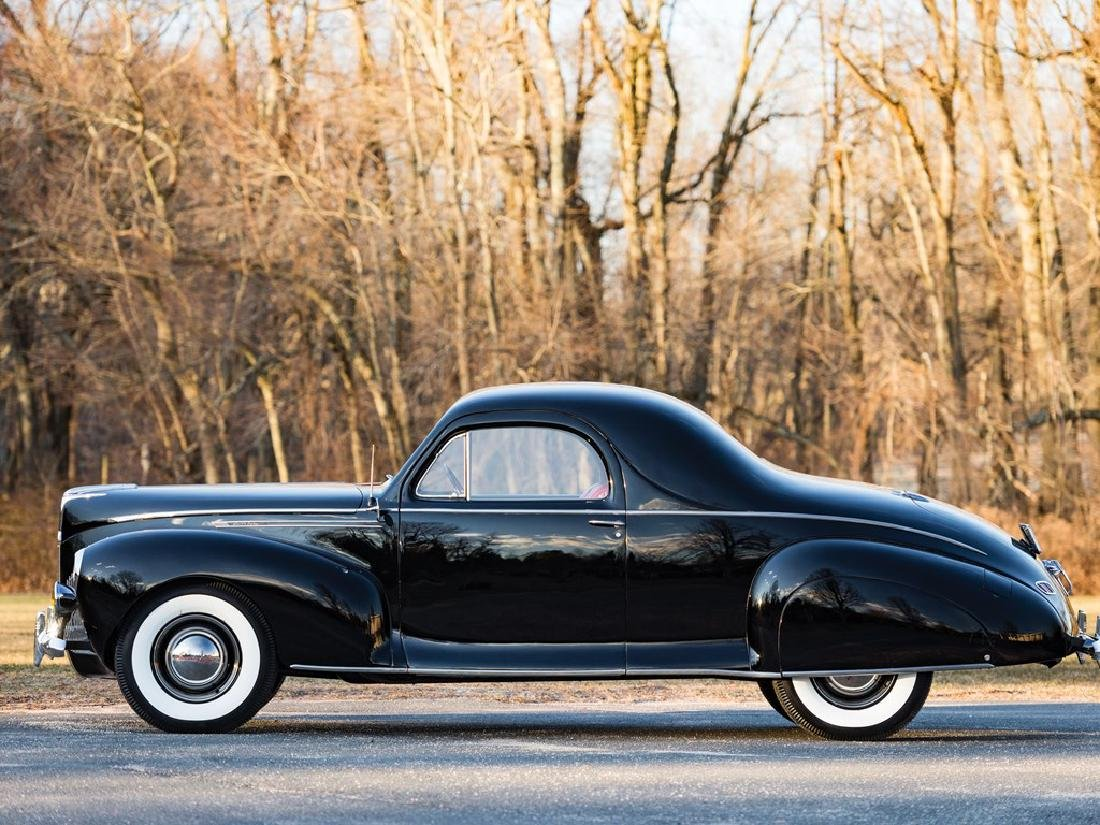 1940 Lincoln-Zephyr V-12 Three-Window Coupe - 5