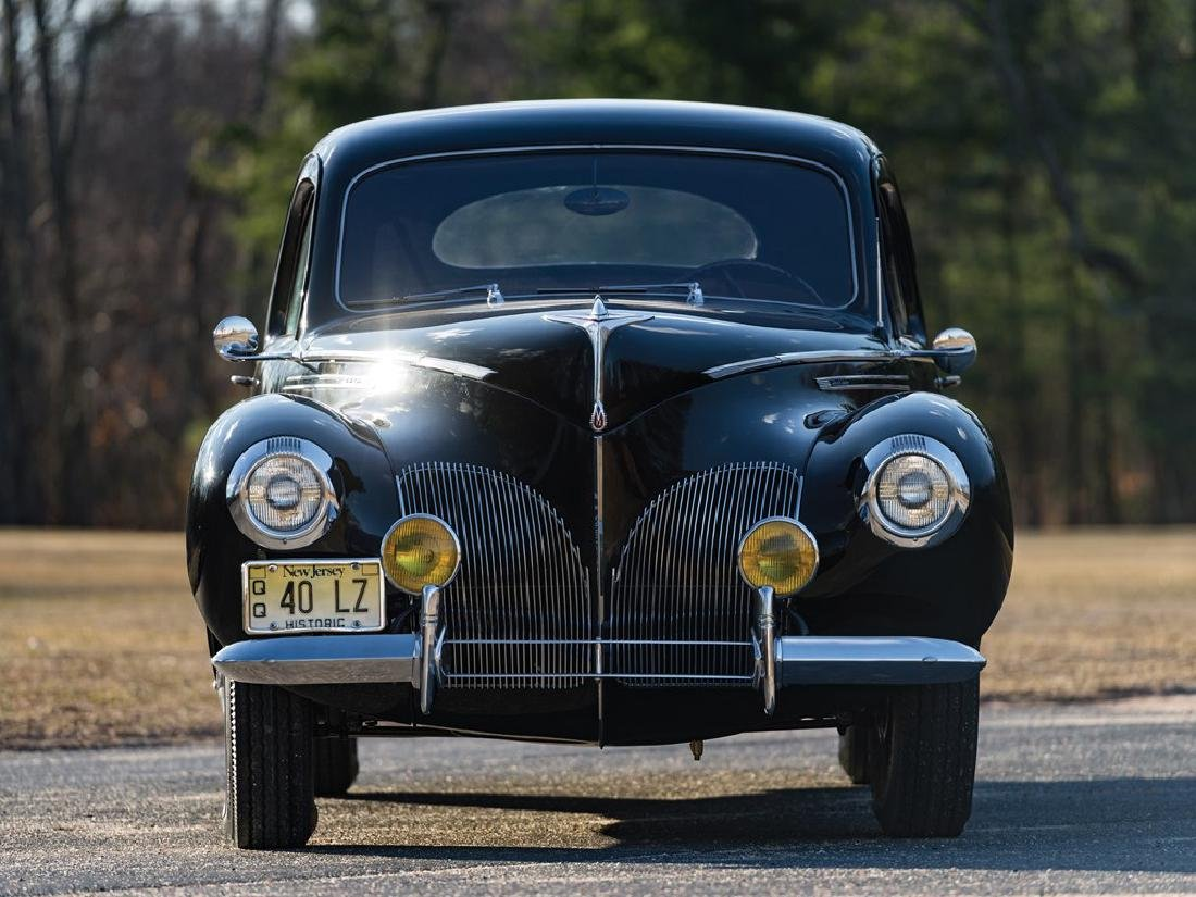 1940 Lincoln-Zephyr V-12 Three-Window Coupe - 9