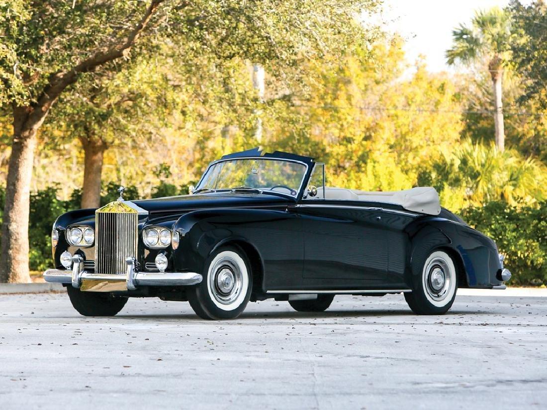 1963 Rolls-Royce Silver Cloud III Drophead Coupe by