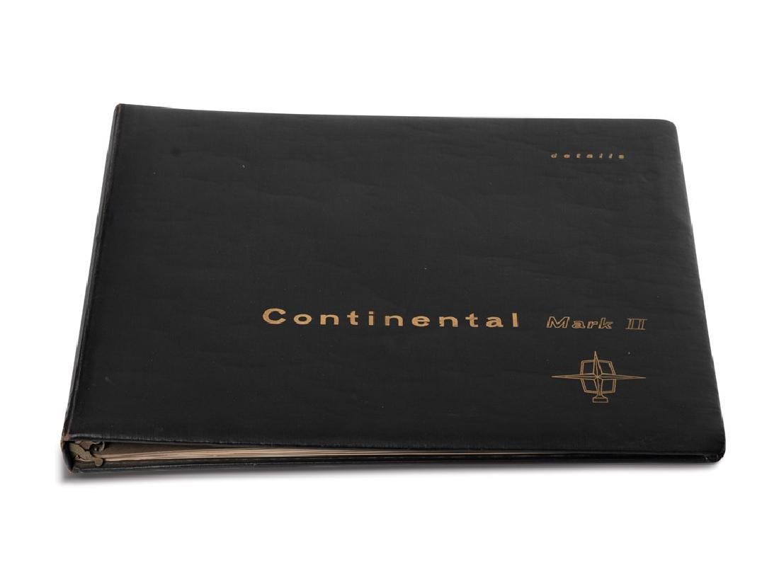 Continental Mark II Dealer Folio