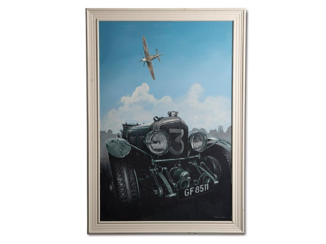 Blower Bentley and Spitfire by Tony Epson