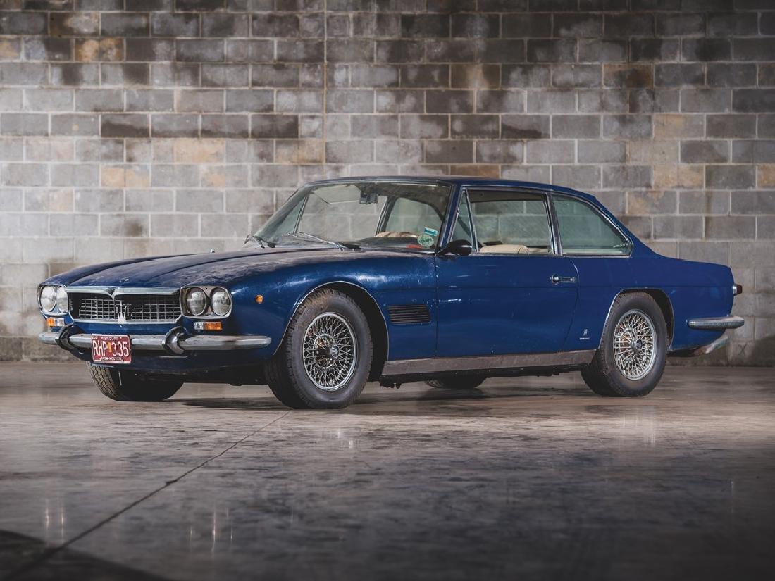 1970 Maserati Mexico 4.7 Coupe by Vignale