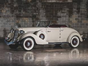 1935 Auburn Eight Custom Cabriolet