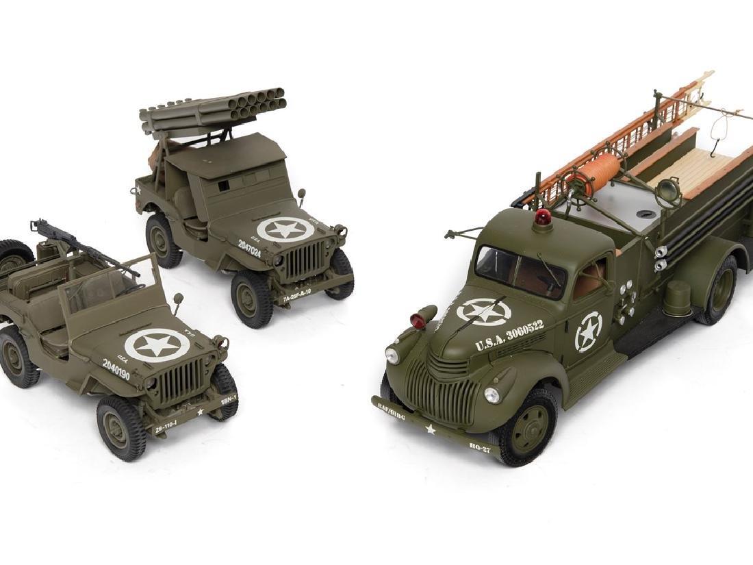 World War II Military Models - 2
