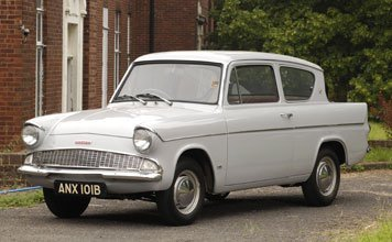 201: 1964 Ford Anglia Deluxe Saloon